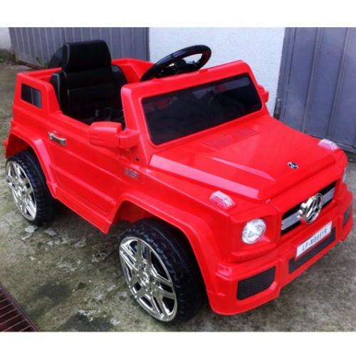 Automobil na akumulator Mercedes G80 crveni