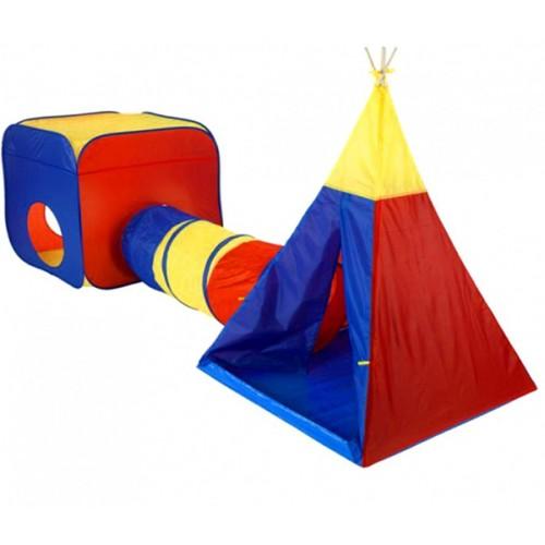 Dečiji šator sa tunelom