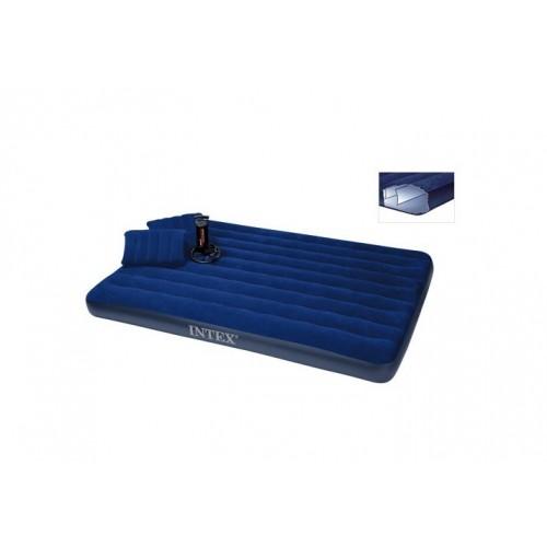 Krevet na naduvavanje Intex 152x203x22 cm set
