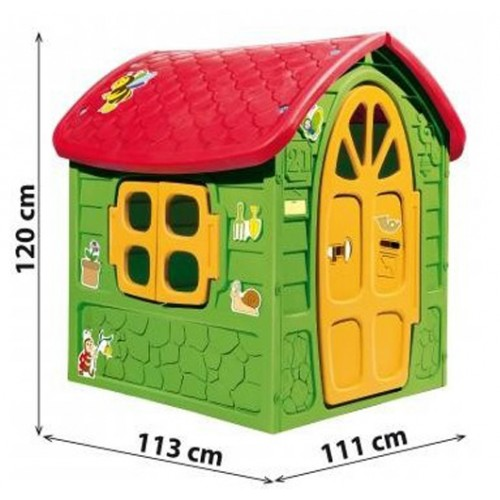 Kućica 120x113x111cm