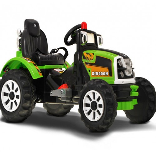 Traktor na akumulator model 223 zeleni
