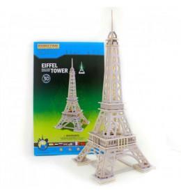 3D drvene puzzle - Ajfelov toranj