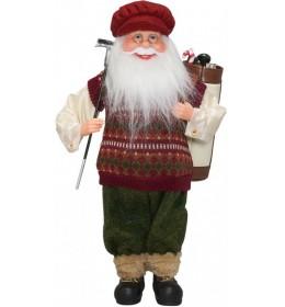 Deda mraz sa poklonima 30 cm