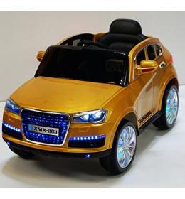 Automobil na akumulator Audi Q7 gold