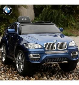 Automobil na akumulator BMW X6 plavi