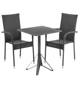 Baštenska garnitura KRG sa dve stolice