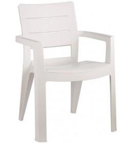 Baštenska stolica Ibiza - bela