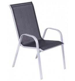 Baštenska stolica MLN black