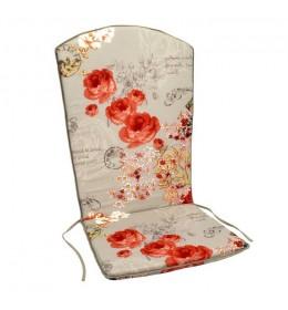 Baštenski jastuk za visoki naslon Warna Warni