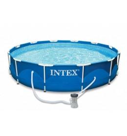 Bazen Intex Steel Frame 366x76cm sa filter pumpom