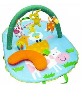 Bebi gimnastika žirafa i kravica Biba Toys