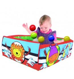 Bebi plišana gimnastika sa loptama Biba Toys