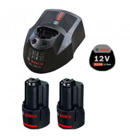 Bosch Starter set 2x GBA 12V 3.0Ah + GAL 1230 CV