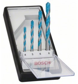Bosch 4-delni Robust Line set višenamenskih burgija CYL-9 Multi Construction