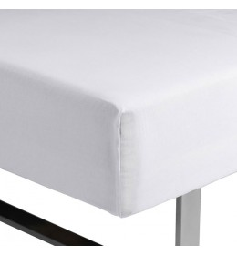 Čaršav sa lastišem Kronborg 90 cm x 200 cm x 35 cm beli