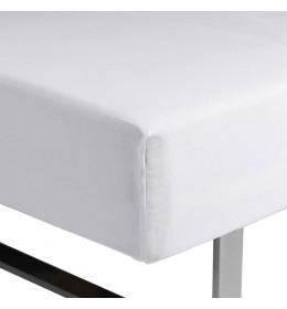 Čaršav sa lastišem Kronborg 160 cm x 200 cm x 35 cm beli