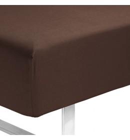 Čaršav sa lastišem Kronborg 180 cm x 200 cm x 35 cm braon