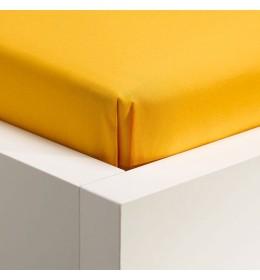 Čaršav mikro Linteum 140 cm x 250 cm žut