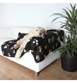 Ćebe za pse Doggy crno 150x100 Trixie