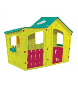 Dečija kućica Magic Villa House tirkiz