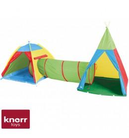 Dečiji šator sa tunelom Knorr Zenovia