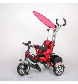 Dečiji tricikl guralica sa tendom 05 crveni