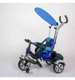Dečiji tricikl guralica sa tendom 05 plavi