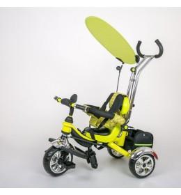 Dečiji tricikl guralica sa tendom 05 zeleni