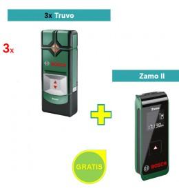 Detektor metala Bosch Truvo + Digitalni laserski daljinomer Zamo II