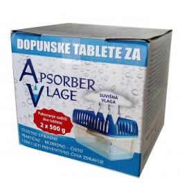 Dopunske tablete za apsorber vlage 2 kom
