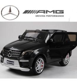 Džip Mercedes ML63 AMG sa silikonskim gumama crni