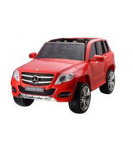 Džip na akumulator Mercedes GLK 300 crveni