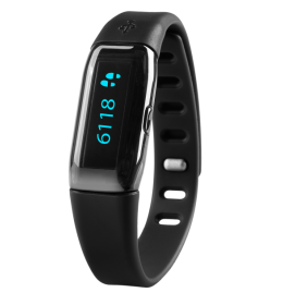 Fitnes narukvica - pedometar ViFit-Connect MX3 Bluetooth Smart crni