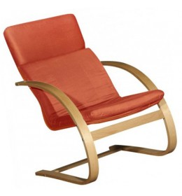 Fotelja brezovina terakota