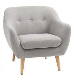 Fotelja ELEGANT svetlo siva
