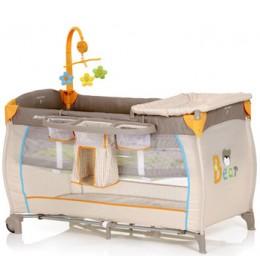 Prenosivi krevetac Hauck Baby Centar Bear
