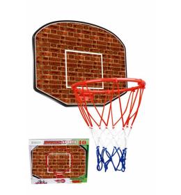 Košarkaša tabla sa obručem i loptom za decu