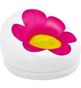 Fotelja Cvet roze