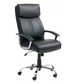Kancelarijska stolica crna memorijska pena