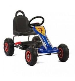 Karting na pedale plavi