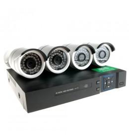 Kompletan sistem HD video nadzora 4 kamere 36IR 1,3Mpx