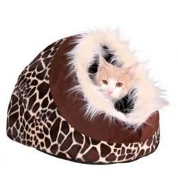 Krevet za macu ili malog psa Minou 41 cm Trixie žirafina šara