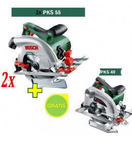 Kružna testera Bosch PKS 55 + Kružna testera Bosch PKS 40