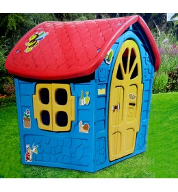 Kućica 120x113x111cm plava