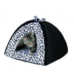 Kućica za mačke Leoni Trixie snežni leopard