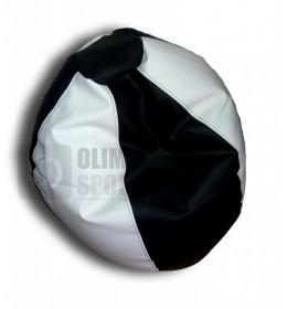 Lazy bag eko koža crno-beli S
