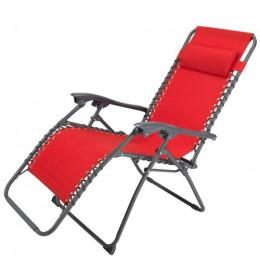 Ležaljka Relax crvena