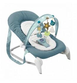 Ležaljka ljuljaška za bebe Chicco Hoopla plava