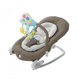 Ležaljka ljuljaška za bebe Chicco Ballon Light Gray
