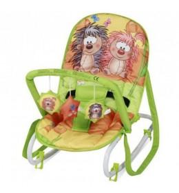 Ležaljka ljuljaška za bebe Top Relax Multicolor